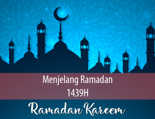 Menjelang Ramadan 1439H